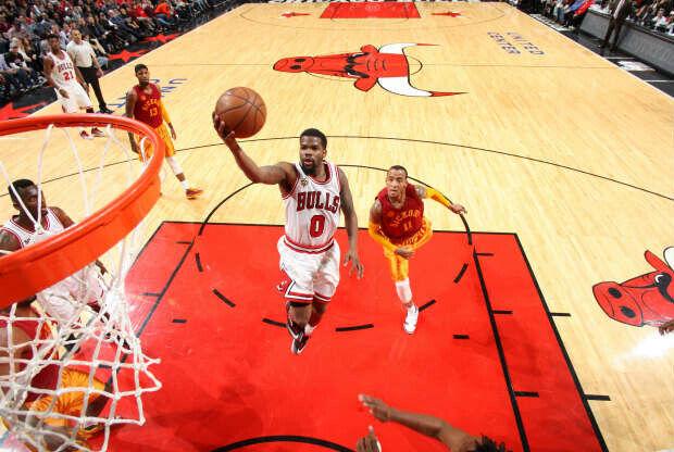 Chicago Bulls jugando contra Indiana Pacers