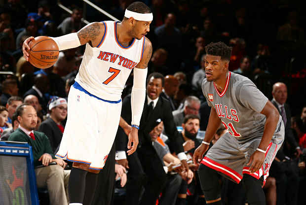 Chicago Bulls ante New York Knicks