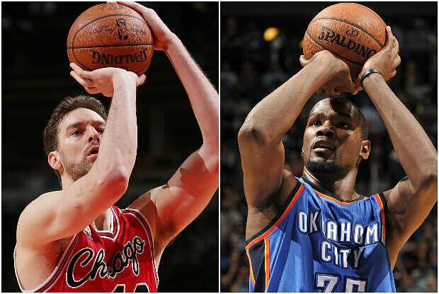 Chicago Bulls vs. Oklahoma City Thunder se enfrentan en el Día de Navidad NBA