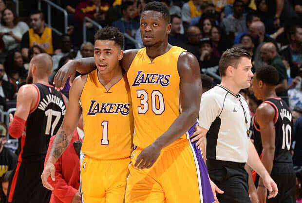 D'Angelo Russell - Julius Randle Los Angeles Lakers