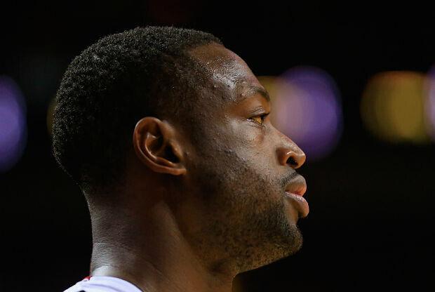 Dwyane Wade con Miami Heat.