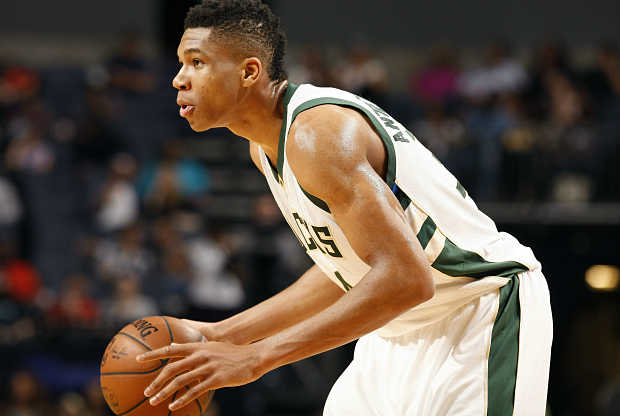 Giannis Antetokounmpo, jugador de Milwaukee Bucks