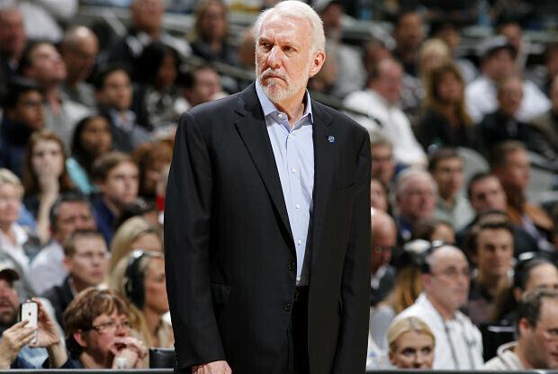 Gregg Popovich San Antonio Spurs.