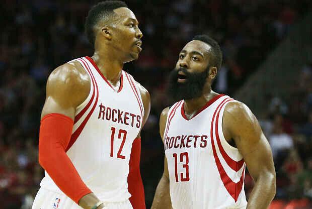 Houston Rockets Howard - Harden