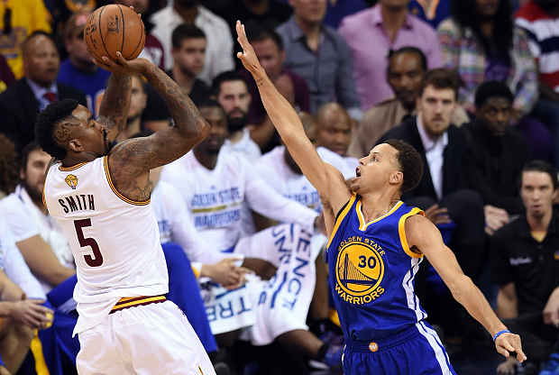 J.R. Smith Cleveland Cavaliers