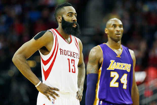James Harden ante Kobe Bryant