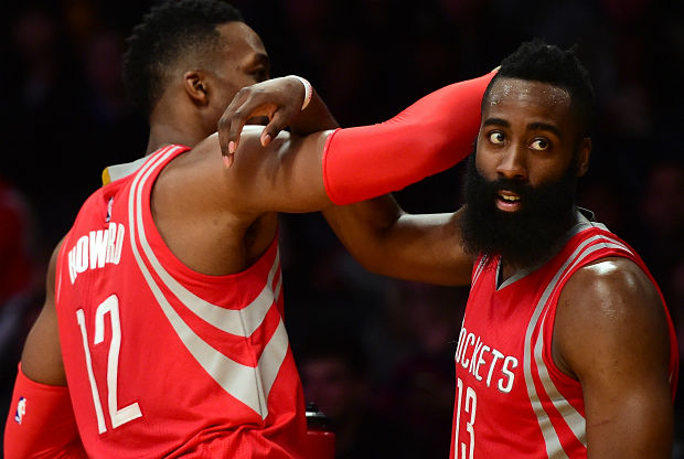 James Harden y Dwight Howard