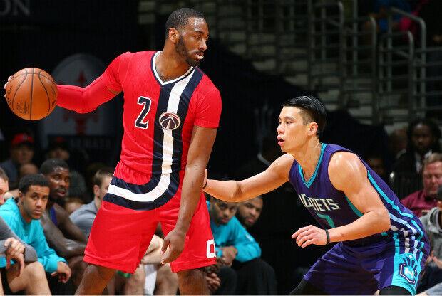 John Wall ante Jeremy Lin