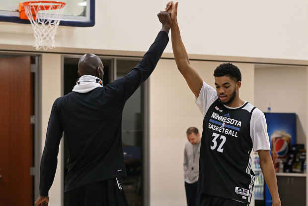 Karl-Anthony Towns Minnesota Timberwoves