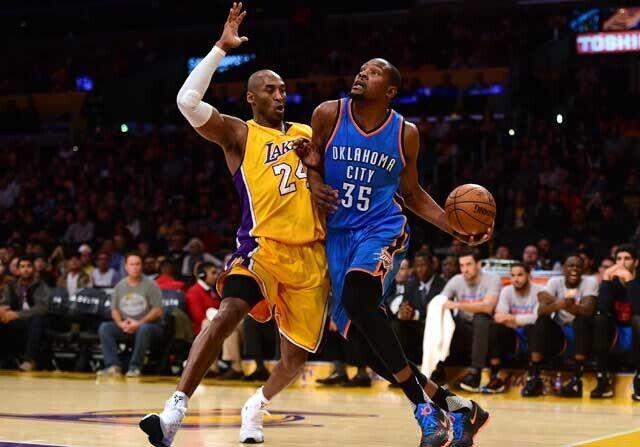 Kevin Durant alaba a Kobe Bryant