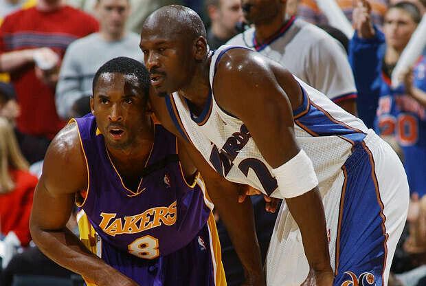 Kobe Bryant y Michael Jordan cara a cara