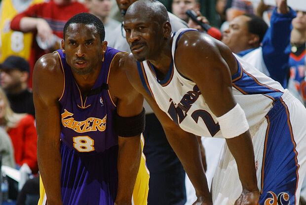Kobe Bryant ante Michael Jordan