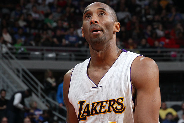 Kobe Bryant molesto por no tener 6 anillos.