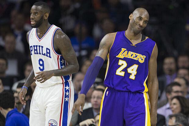 Kobe Bryant y Los Angeles Lakers cayeron ante Philadelphia.