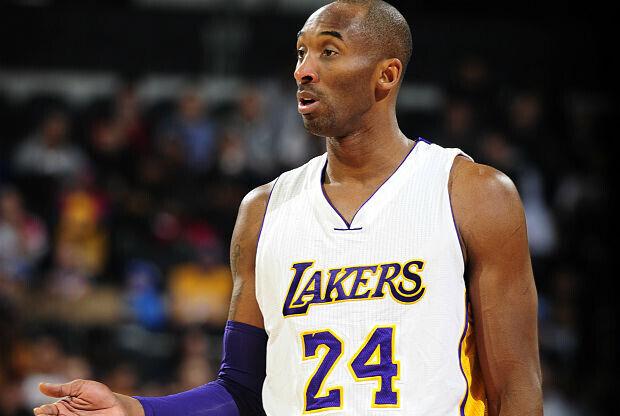 Kobe Bryant partido ante Detroit Pistons