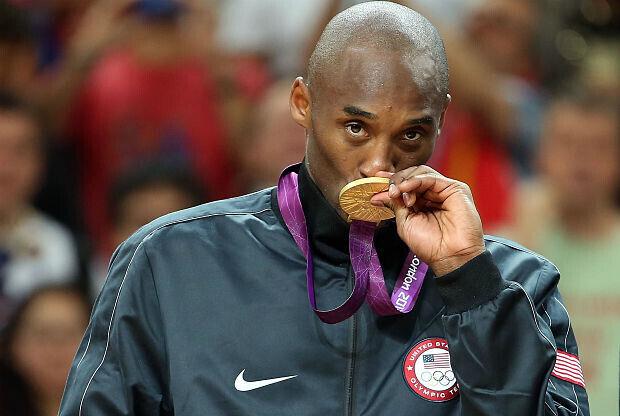Kobe Bryant quiere lograr su tercera medalla de oro en las justas olímpicas.