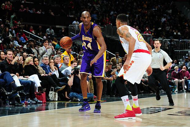 Kobe Bryant partido ante Atlanta