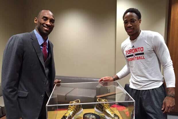 Kobe Bryant y DeMar DeRozan