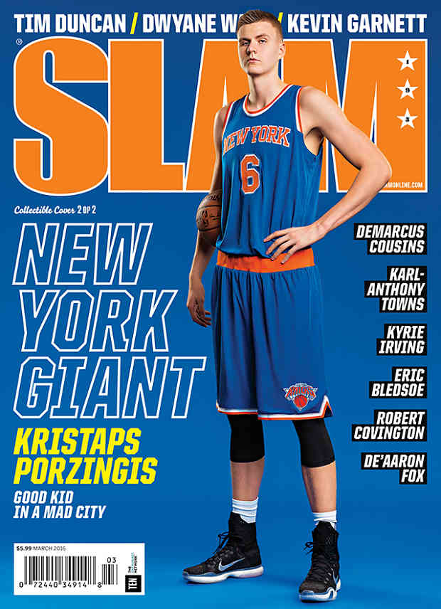 Slam Magazine se fija en Kristaps Porzingis