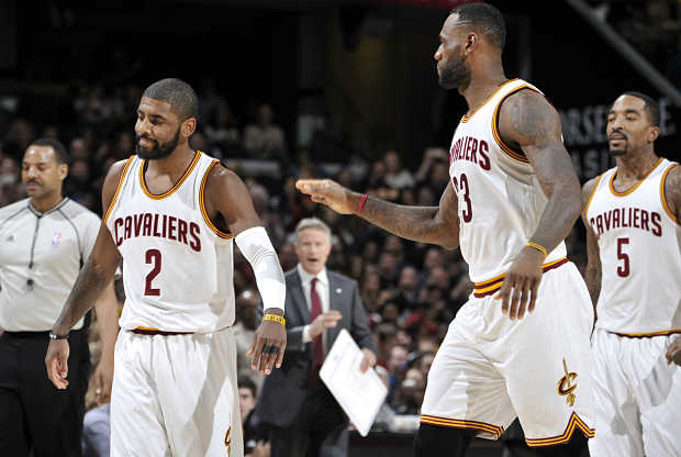 Kyrie Irving - LeBron James Cleveland Cavaliers