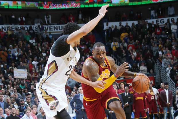 LeBron James y Anthony Davis