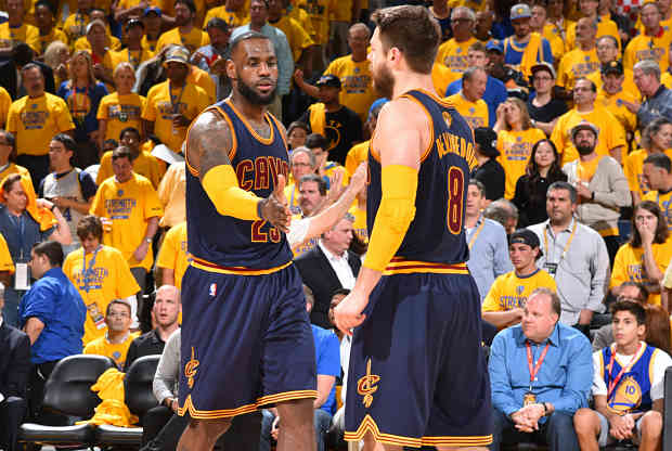 LeBron James Matthew Dellavedova