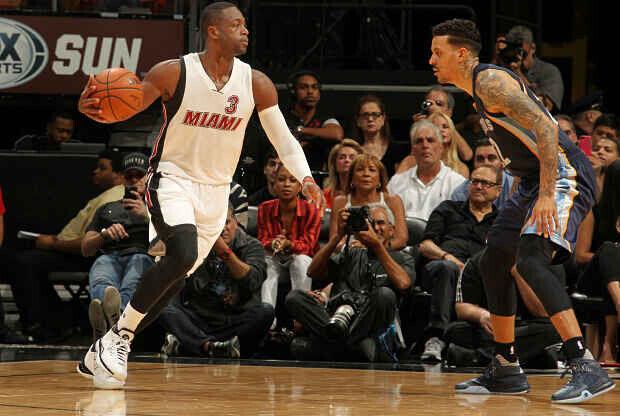 Miami Heat partido ante Memphis Grizzlies.