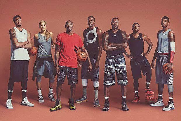Todas las estrellas Nike