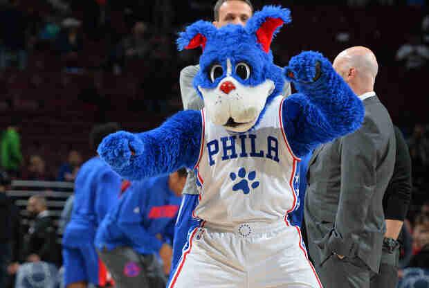 Mascota Philadelphia 76ers