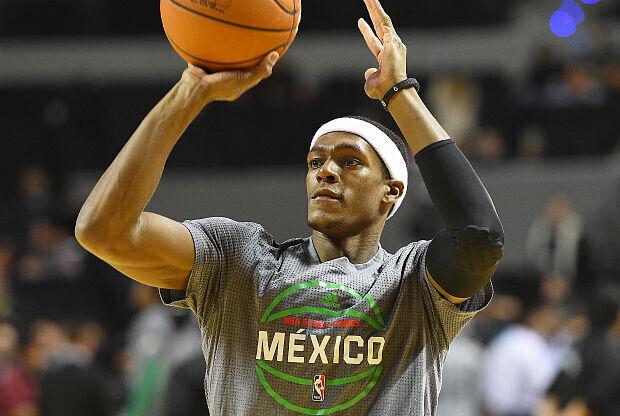 Rajon Rondo jugando en México