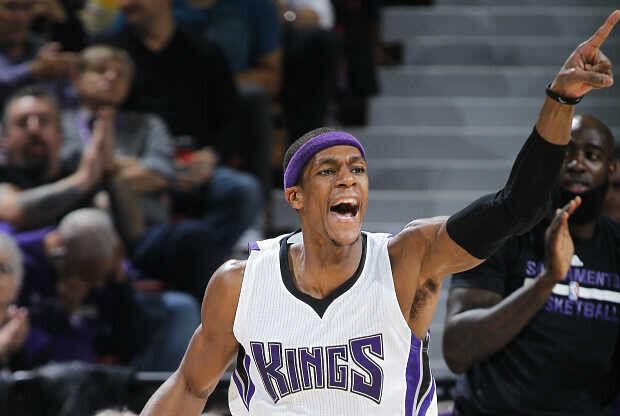 Rajon Rondo jugador Sacramento Kings