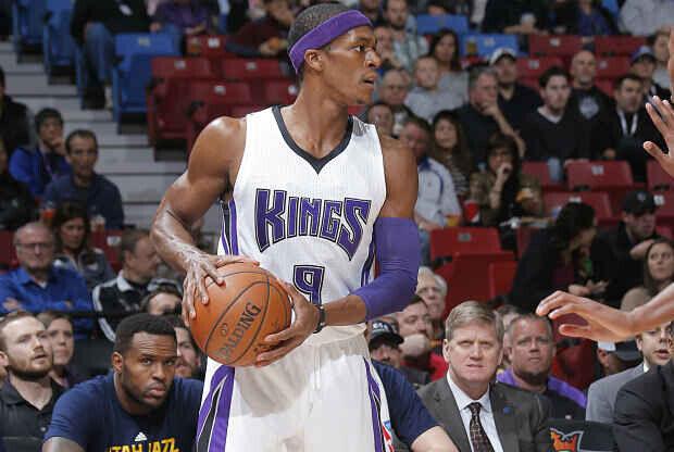 Rajon Rondo jugador de Sacramento Kings.