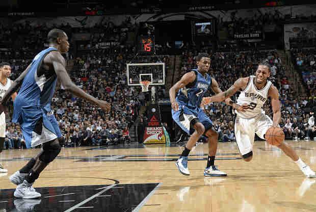 San Antonio Spurs ante Minnesota Timberwolves