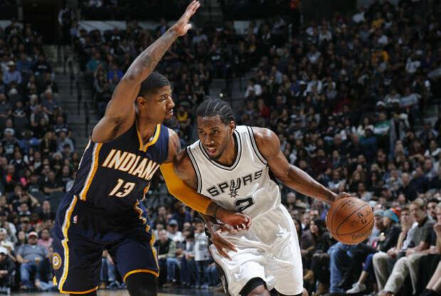 San Antonio Spurs ante Indiana Pacers