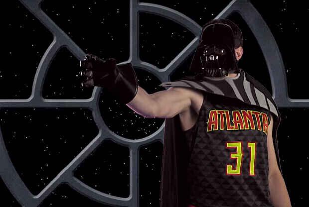 Star Wars llega a la NBA