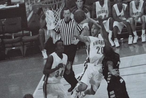 Stephen Curry en su época de instituto