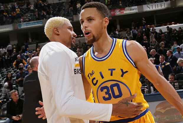 Stephen Curry Golden State Warriors.