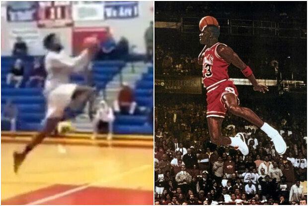 JaShaun Smith mejora el mítico mate de Michael Jordan