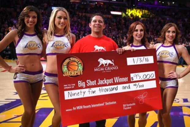 Un aficionado de Los Angeles Lakers se lleva 95.000 dólares