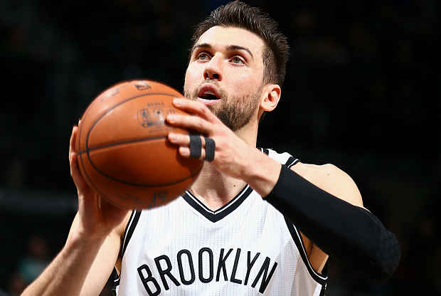Andrea Bargnani Brooklyn Nets