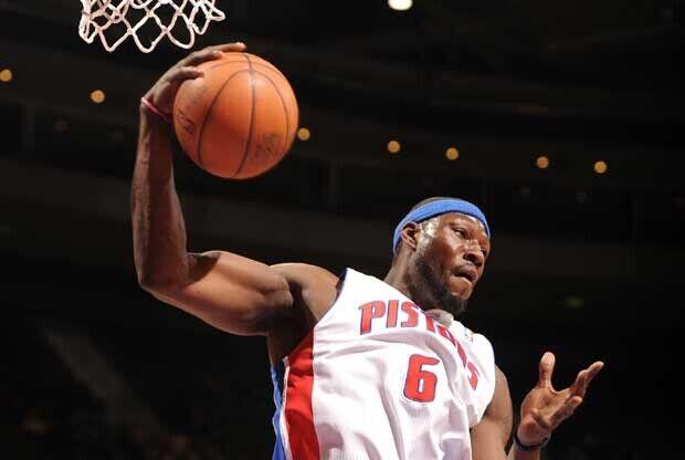 Ben Wallace, en su etapa en Detroit Pistons