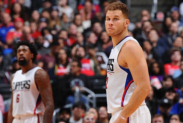 Blake Griffin de Los Ángeles Clippers