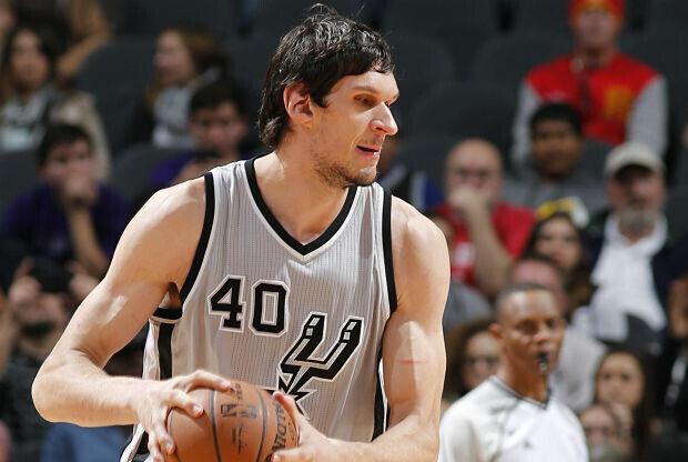 Boban Marjanovic, jugador de San Antonio Spurs