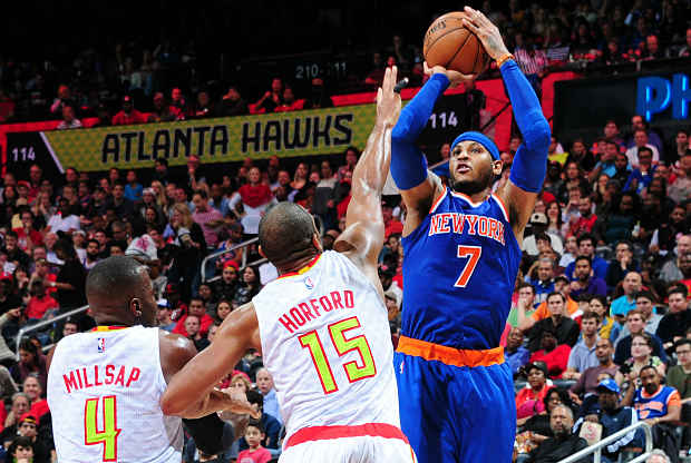 Carmelo Anthony Al Horford