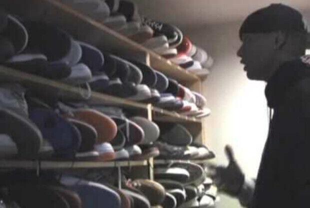 Charlie Villanueva y su colección de zapatillas
