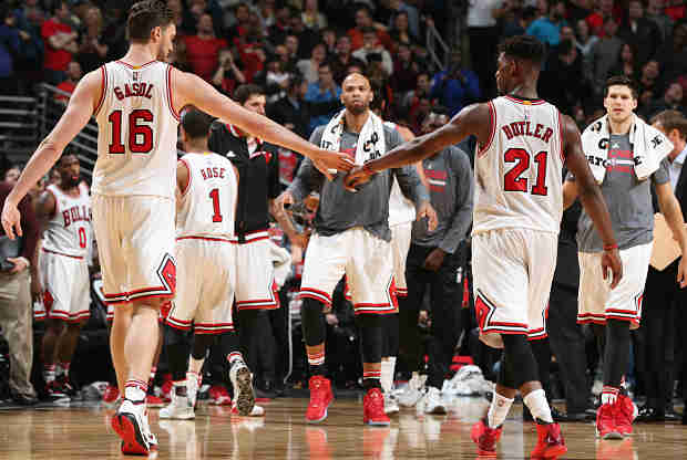 Chicago Bulls partido ante Milwaukee Bucks