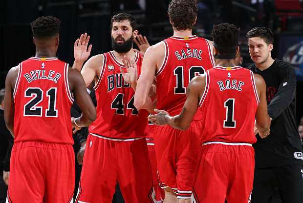Chicago Bulls partido ante Boston Celtics.