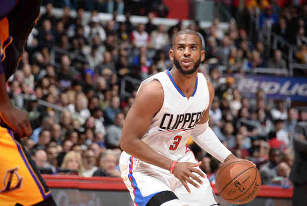 Chris Paul contra Los Angeles Lakers
