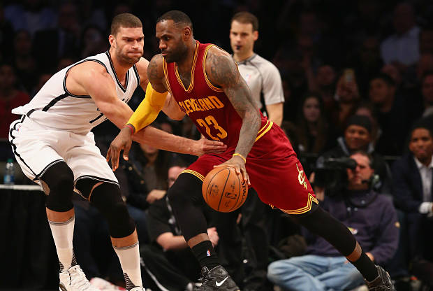 Cleveland Cavaliers contra Brooklyn Nets