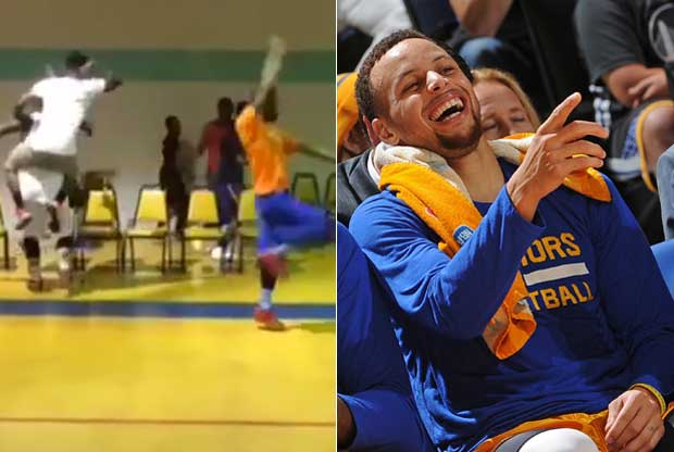 Parodia de Stephen Curry